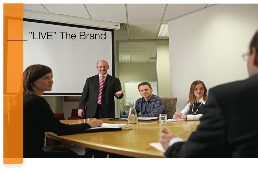 Live The Brand